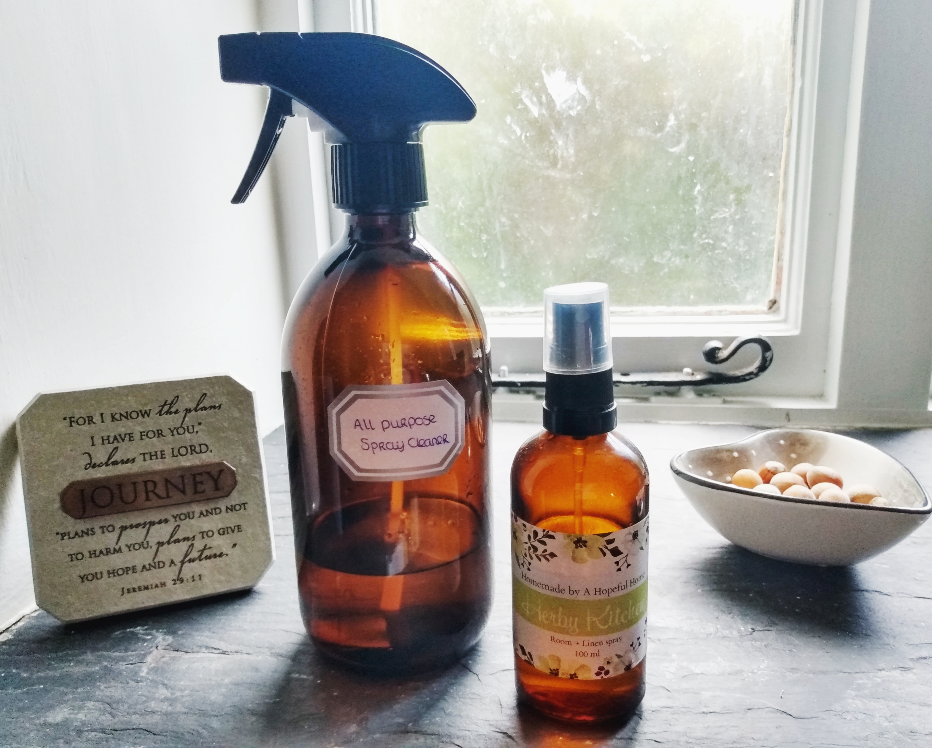 The natural all purpose spray cleaner. DIY Natural Witch Hazel Makeup Remover by a Hopeful Home.