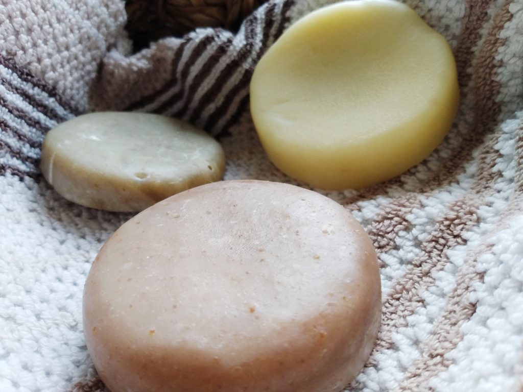 Shampoo and conditioner bars. The Best Natural Shampoo (and Conditioner) in Wales by a Hopeful Home.