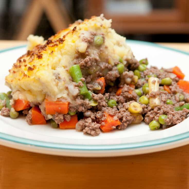 five easy meals with minced beef shepherds pie