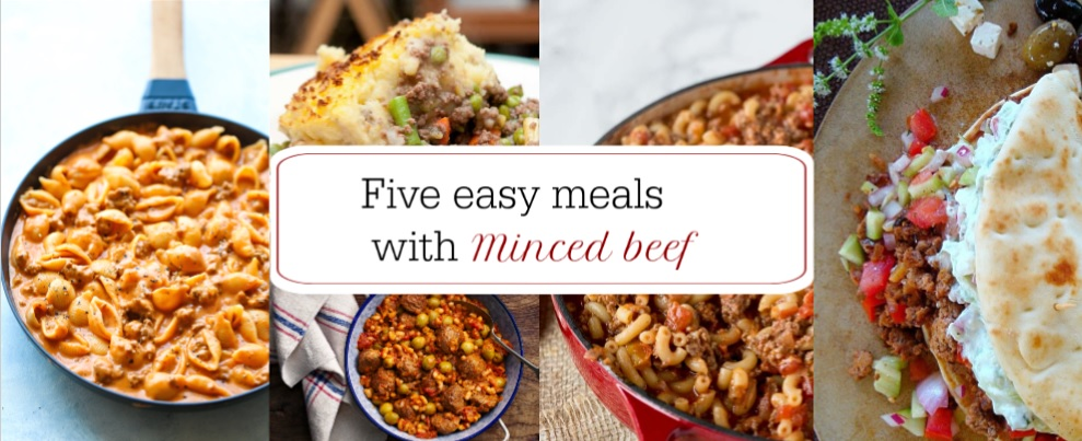 five easy meals with minced beef featured image