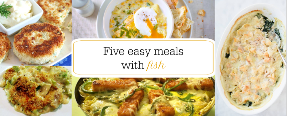 Featured image. 5 Straightforward Fish Dinners by a Hopeful Home.