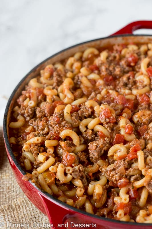 five easy meals with minced beef american goulash
