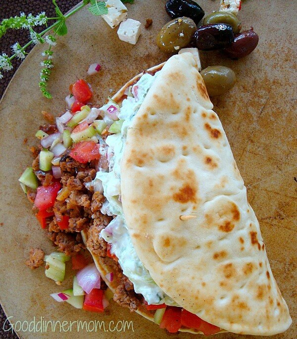 five easy meals with minced beef greek taco's
