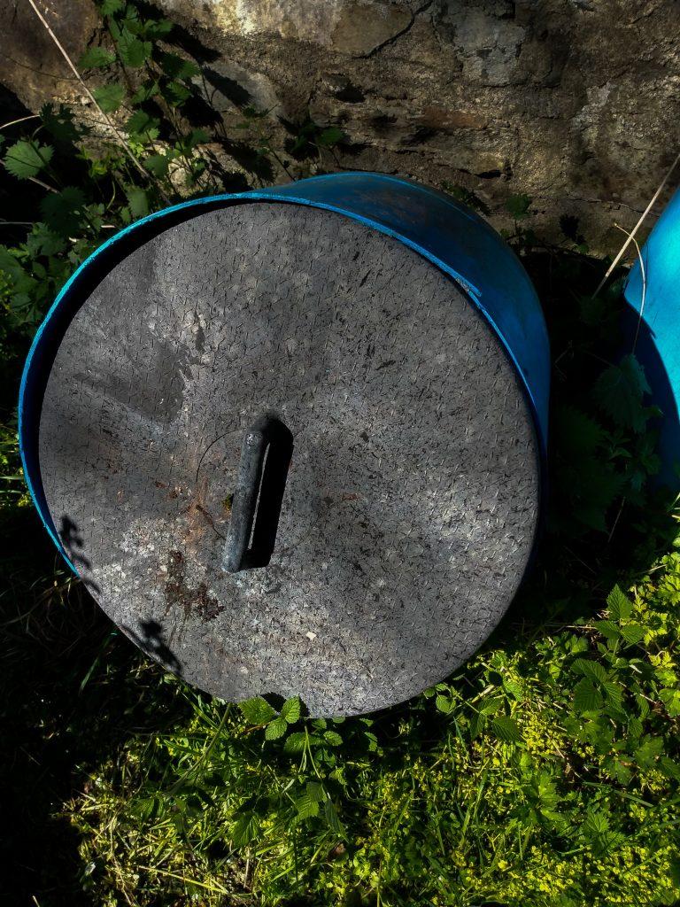 How to make stinging nettle plant fertilizer storage barrel