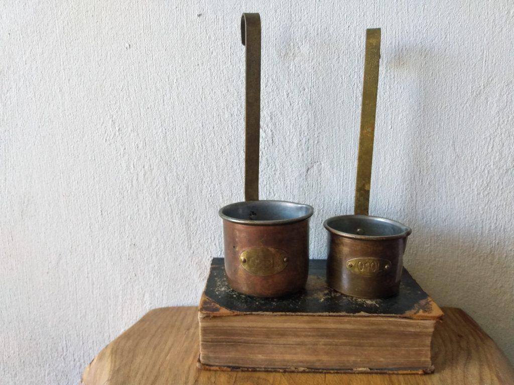 main image copper milk ladles