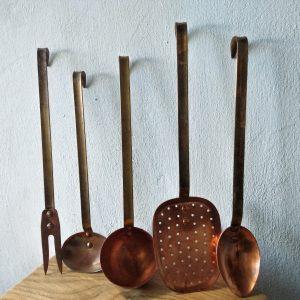 main image copper utensil set