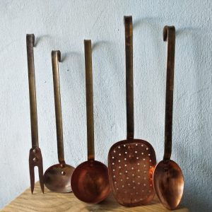 main image copper utensil set