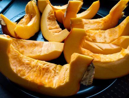 slices pumpkin