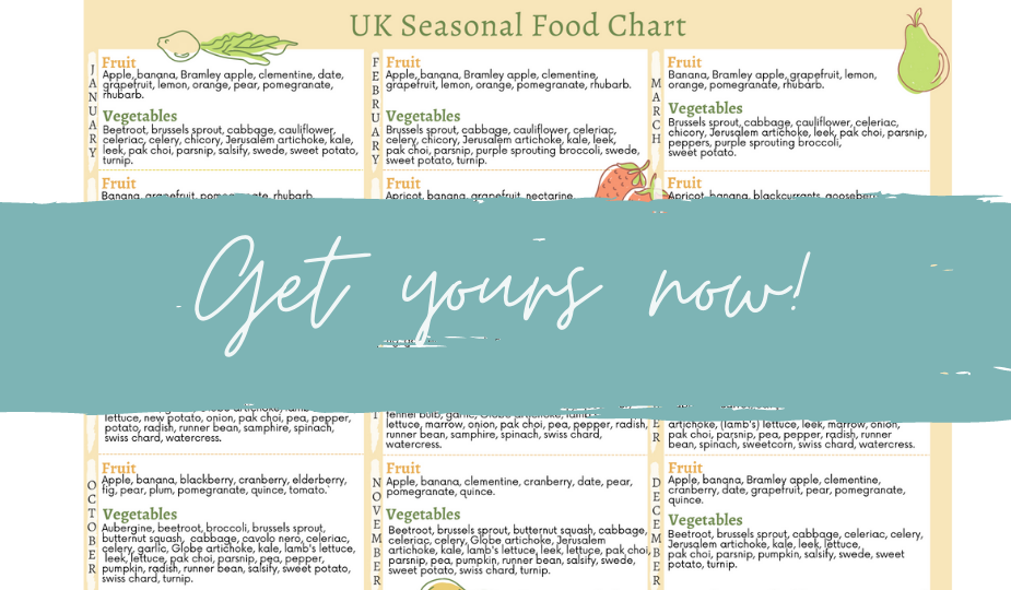 close up example free uk seasonal food printable by a Hopeful Home.