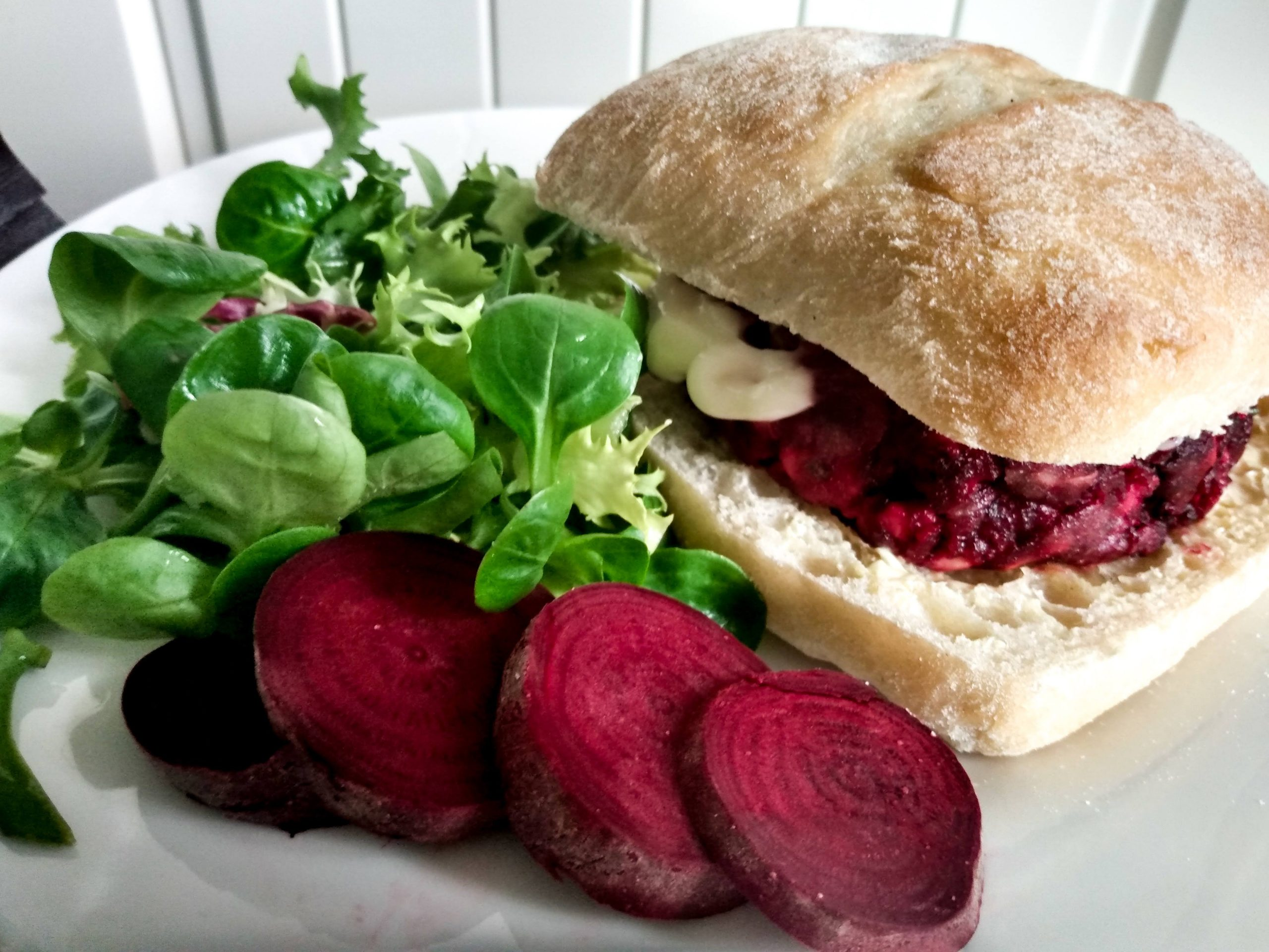 Easy Beet Burger Recipe