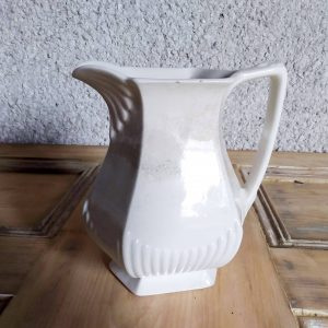Featured image ceramic white jug from the A Hopeful Home webshop.