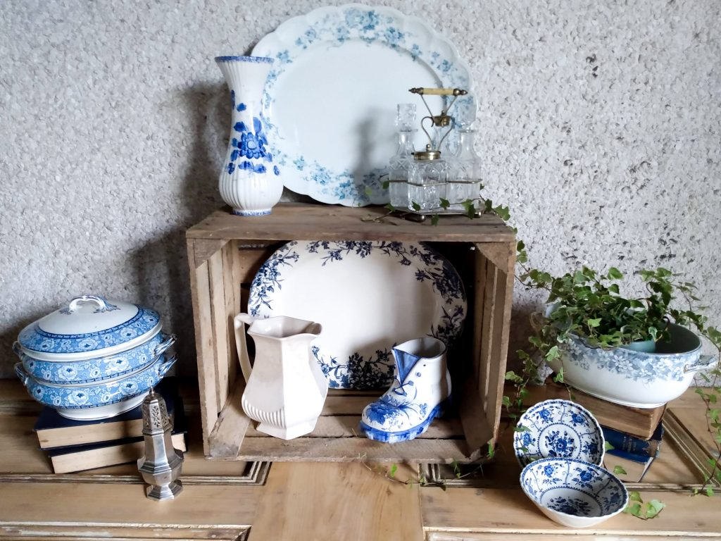 Stock picture February vintage homeware restock by a Hopeful Home.