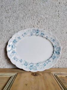 Antique ceramic meat platter February Vintage Homeware Restock by A Hopeful Home.