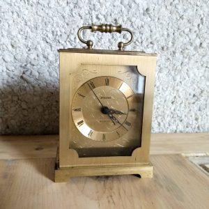 Vintage Staiger Quartz Brass Cased Carriage Clock
