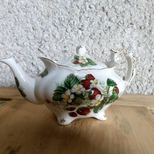 Hammersley Strawberry Ripe Bone China Teapot by Spode