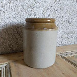 Vintage Stoneware Storage Jar.