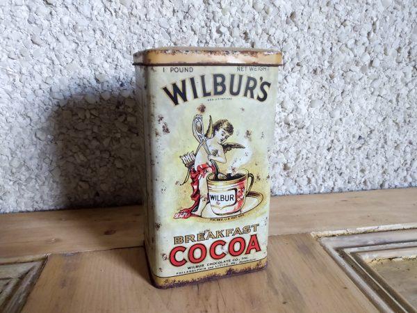 Vintage breakfast cocoa tin.