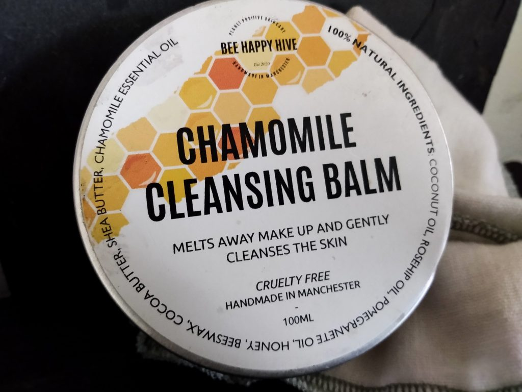 3 Natural Skincare Product Reviews by a Hopeful Home. Chamomile Cleansing Balm from Bee Happy Hive.