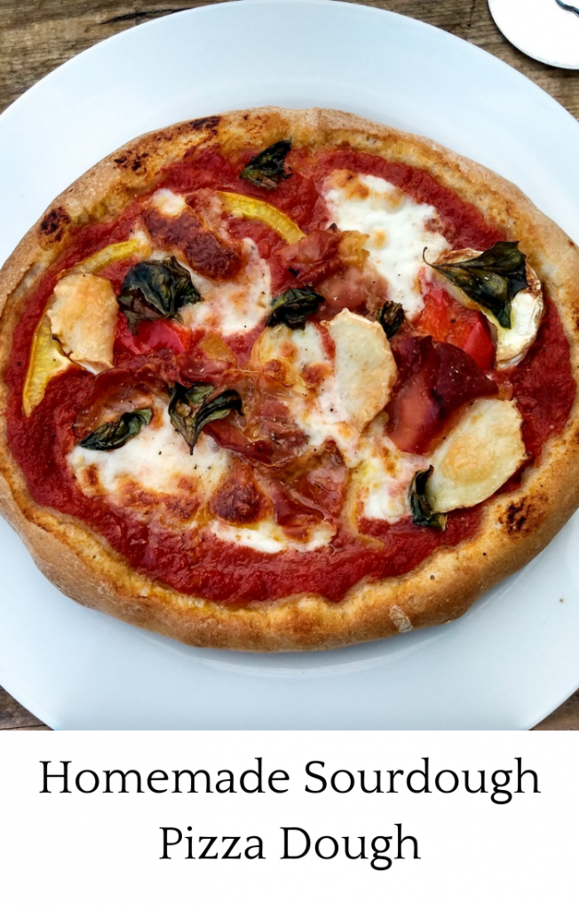 Homemade Sourdough Pizza Dough